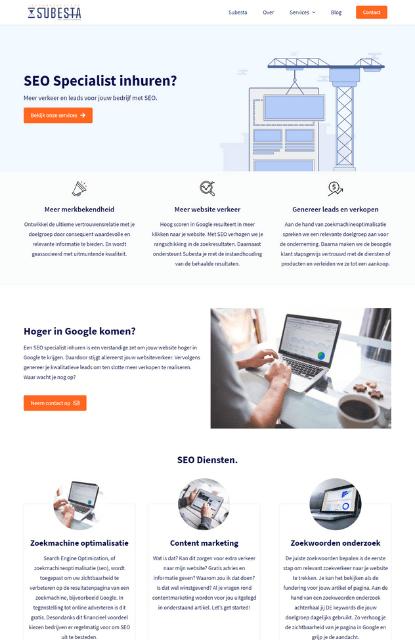 Webdesign Antwerpen Portfolio